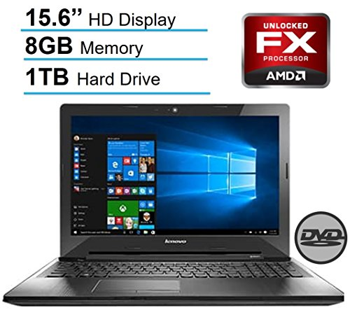 Lenovo 15.6'' HD LED Signature Laptop PC, AMD Quad-Core...