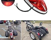 オートバイ 12vテールライトフィラメントブレーキストップライトユニバーサル用kawasakiバルカン 900 v-スターホンダvtx 1300 1800