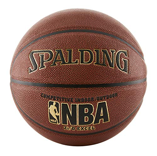 Find Bargain Spalding NBA Zi/O Excel Basketball - Official Size 7 (29.5)