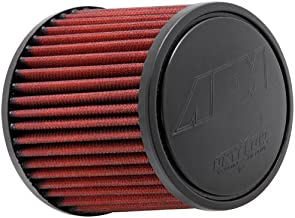 AEM 21-2011DK Universal DryFlow Clamp-On Air Filter: Round Tapered; 2.5 in (64 mm) Flange ID; 5 in (127 mm) Height; 5.5 in (140 mm) Base; 4.75 in (121 mm) Top