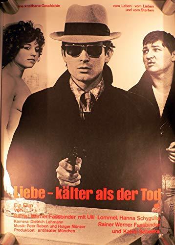 Liebe - Kälter als der Tod - Filmposter A1 84x60cm gerollt