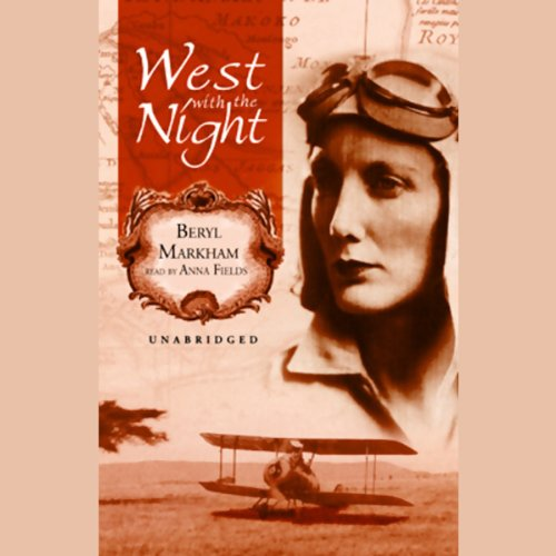 West with the Night audiobook cover art