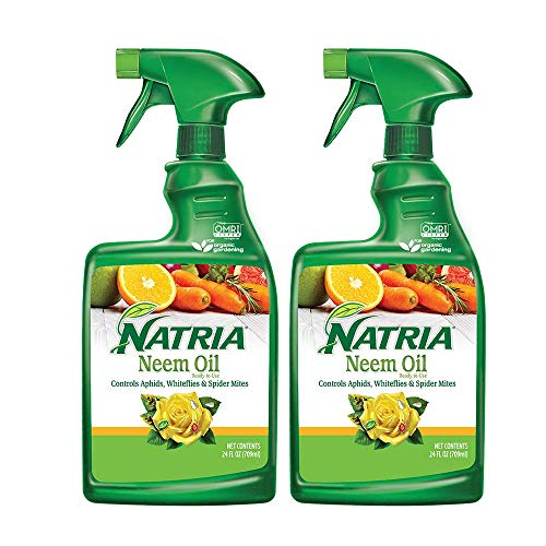 Natria 706250A Neem Oil Pest and Disease Control, 24-Ounce, Ready-to-Use (Pack of 2)