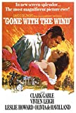 Gone with The Wind -Key Art - Filmposter Kino XXL-Poster