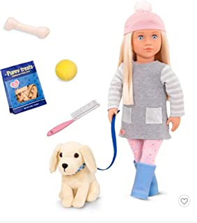 Our Generation Doll Meagan with Pet - Golden Retriever