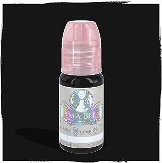 Perma Blend Permanent Makeup Microblading Micropigmentation Pigment Professional Permablend (Eyeliner Black)