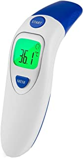 Cimaybeauty LCD Digital Non-contact Infrared Therṁoṁeter Forehead Ear Temperature Meter