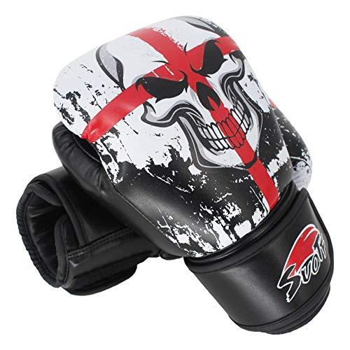 MMA Black Boxing Skull Sport...