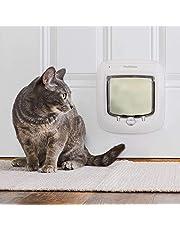 PetSafe Kattenklep, oud model, selectieve ingang, eenvoudige installatie, praktisch, 4-weg vergrendeling, tochtuitsluiting.