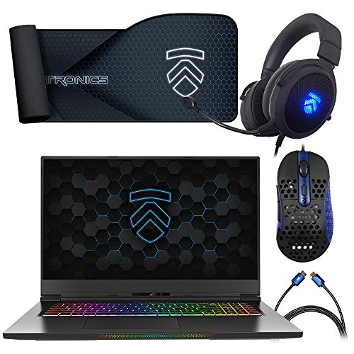 Eluktronics MAX-17 Covert Gamer Notebook PC: Intel i7-10875H 8-Core NVIDIA GeForce RTX 2070 144Hz Calibrated FHD IPS W10 Home 512GB NVMe SSD 16GB DDR4 RAM - World's Lightest 17.3' Gaming Laptop