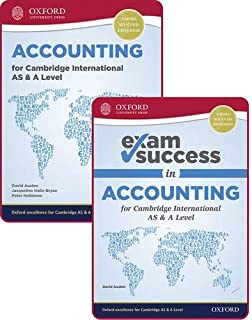 Accounting for Cambridge International AS and A Level: Student Book & Exam Success Guide Pack (First Edition)
