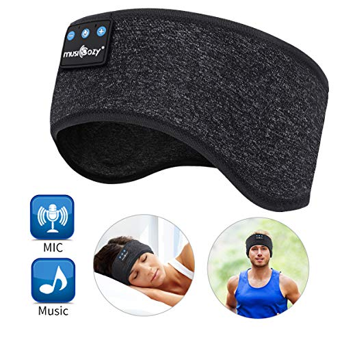 WU-MINGLU Bluetooth Headband Sleep Headphones, Wireless Music Sport...