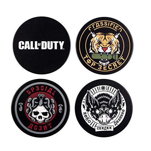 "Call of Duty: Cold War Coaster Set ""Badges"""