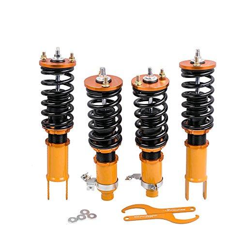 Coilovers for Honda Civic 96-00 Civic 88-91 EK EJ EM EG Spring Suspension Struts Coil Over Shock Adjustable Height