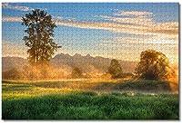 カナダブリティッシュコロンビア州大人向けジグソーパズルキッズ1000ピース木製パズルゲームギフト用家の装飾特別な旅行のお土産