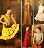 Simplicity Sewing Pattern 2843 Girl Costumes, A (7-8-10-12-14)