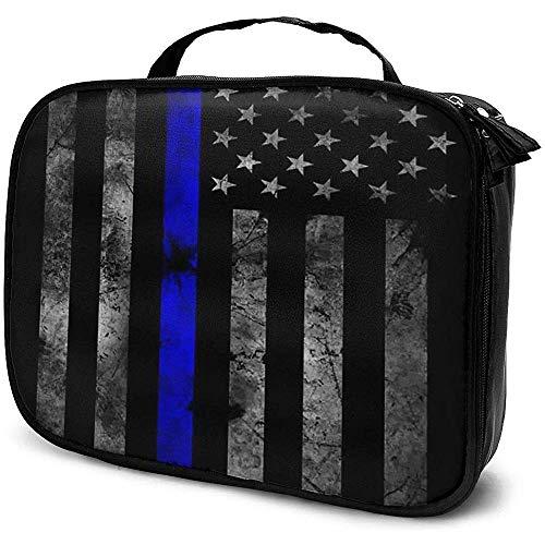 Maxresdefault Flag Makeup Bag Sac À Cosmétiques Portable Grande Capacité Cosmétique Organisateur Durable