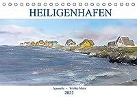 Heiligenhafenaquarelle (Tischkalender 2022 DIN A5 quer): Erleben Sie Heiligenhafen im Landschaftsaquarell. (Monatskalender, 14 Seiten )