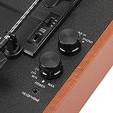 Tocadiscos de la Placa giratoria, portátil estéreo del Tocadiscos de Vinilo para el Registro del 18/20 / 30cm(Transl)