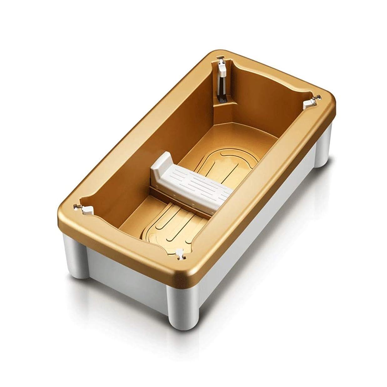 延ばすダース十分靴カバーマシンホーム自動使い捨て靴マシンオフィス足型機スマートフットカバー変更靴カオスを避けるために (Color : Gold)