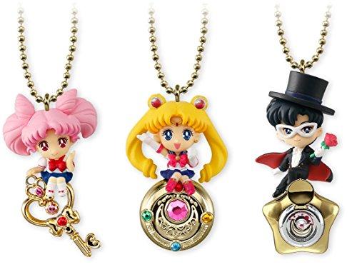 Nintendo Sailor Moon Twinkle Dolly Special Set of 3~Chibimoon Tuxedo Mask Moon