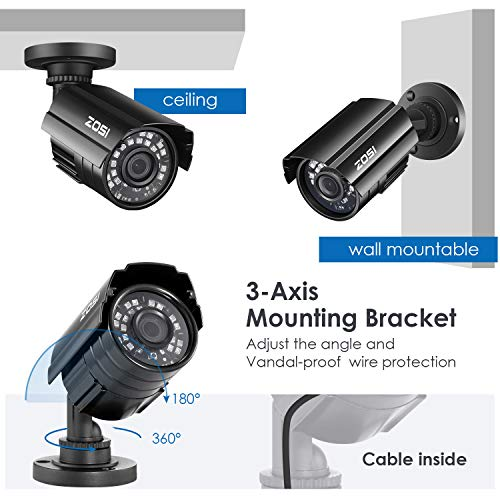 ZOSI 8 Channel Security Camera System