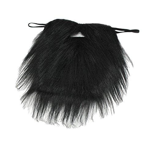 Nouveauté Fausse Barbe Noir (Novelty Black Beard) -Bal costumé