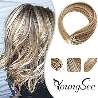 100 remy micro ring hair extensions