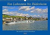 Von Lahnstein bis Ruedesheim - Am wunderschoenen Mittelrhein (Wandkalender 2022 DIN A3 quer): Eine Reise den Mittelrhein entlang (Geburtstagskalender, 14 Seiten )