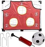 Bavaria Home Style Collection- Torwand fürs Kinderzimmer - Fussballtor - Tor - Ganzjahresartikel, da für drinnen und draussen gut geeignet! 156 x 107 cm