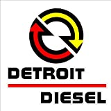 Signs By Woody Detroit Diesel Sticker Decal Large Size NHRA IMCA USRA NTPA
