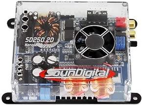 SD2501OHM SOUND DIGITAL 250W,2CHANNEL,1OHM-Set of (Renewed)