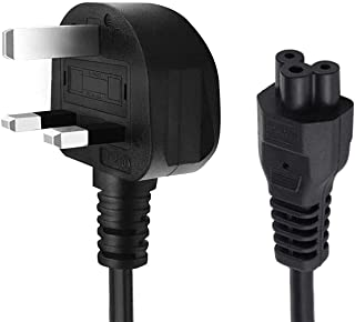 eWINNER 1.5m Laptop Power Cable 3 Pin to Flower with Fuse