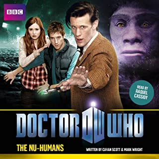 Doctor Who: The Nu-Humans audiobook cover art