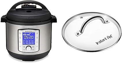 Instant Pot Duo Evo Plus 9-in-1 Electric Pressure Cooker, Sterilizer, Slow Cooker, Rice Cooker, Grain Maker, 8 Quart, 10 P...
