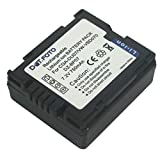 Dot.Foto CGR-DU06, CGA-DU07 Premium 7.2v / 750mAh Batería Recargable para Panasonic