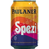 12 Dosen Paulaner Spezi Orangenlimonade + Cola a 0,33l inc. 3.00€ EINWEG Pfand