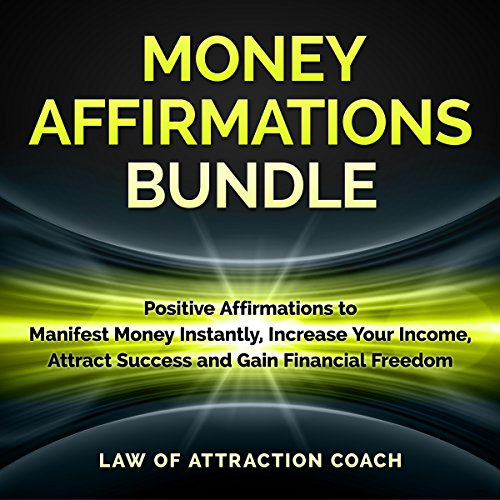 Money Affirmations Bundle audiobook cover art