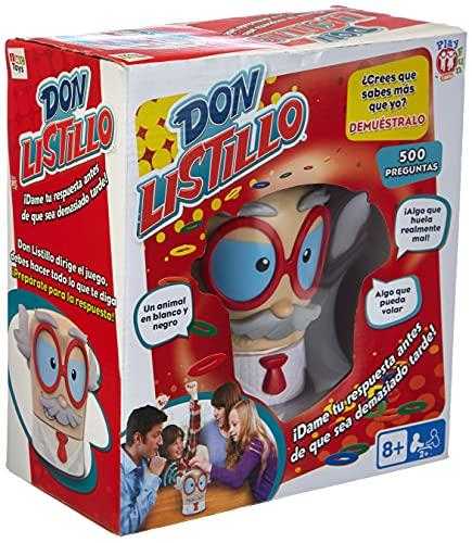 Play Fun Don Listillo - Juego de Mesa Familiar divertido para adultos y Niños a partir de 8 años (en Inglés)