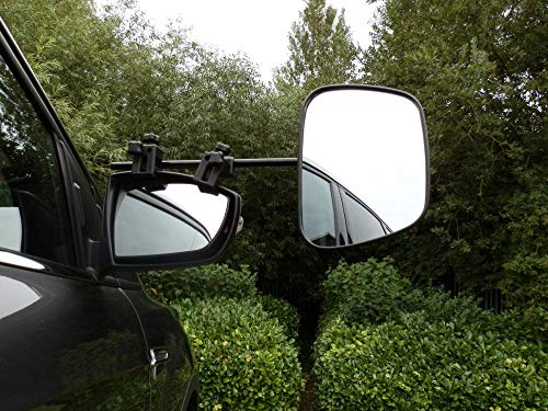 Milenco Grand Aero Flat Mirrors–Twin Pack