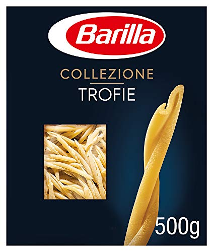 Barilla Hartweizen Pasta Collezione Trofie, 500 g
