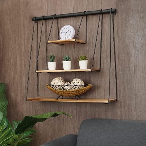 RoomA Slideable Design Floating Shelf for Wall Shelf | Floating Shelves Wall Mounted Rustic Bedroom Decor Bookshelf- Modern, Aesthetic, Hanging, Tier, Book, Storage, Nursery, Bathroom, Display