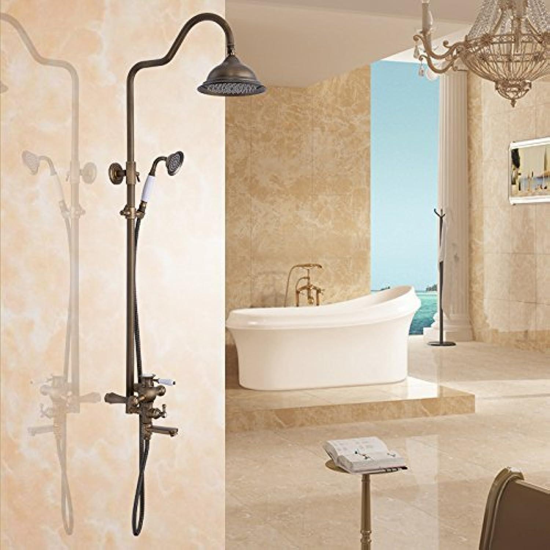 Im europischen Stil Antik Kupfer Dusche Wasserhahn eingestellt