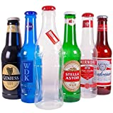 comfyfit Botellas grandes y elegantes para dinero, caja de monedas, notas de plástico de lata de 60 cm (COCACOLA 2 pies)