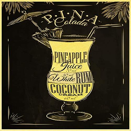 zxddzl Cocktail Bier Bar KTV Vintage Papier Poster Wandmalerei Wohnkultur und Garten Wandaufkleber