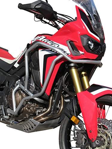 Paramotore HEED per CRF 1000 Africa Twin - Bunker, argento