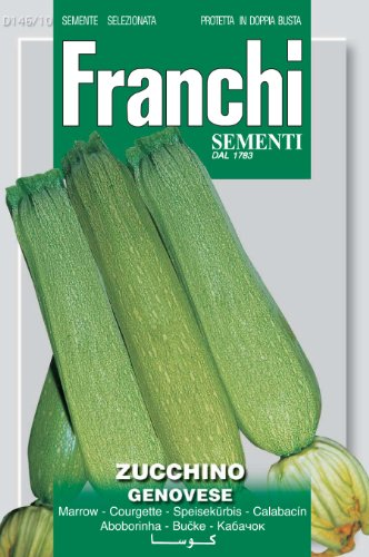 Seeds of Italy Ltd Franchi Genovese Courgette