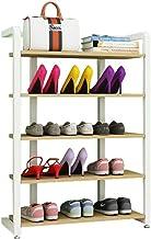 Household Shoe Rack White Organiser Shelves Hallway Storage Multi-Tier Standing Shelf Living Room Dust-Proof Space Saving ...
