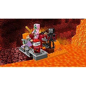 Amazon.co.jp - レゴ マインクラフト 暗黒界の戦い 21139