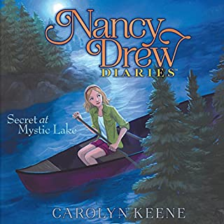 Secret at Mystic Lake     Nancy Drew Diaries, Book 6              Written by:                                                                                                                                 Carolyn Keene                               Narrated by:                                                                                                                                 Jorjeana Marie                      Length: 2 hrs and 36 mins     Not rated yet     Overall 0.0